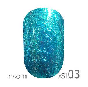 """Гель-лак Naomi """"Selfilluminated colors"""" №3"""