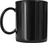 Чашка из поликарбоната Черная  под нанесения логотипа, чашка с логотипом