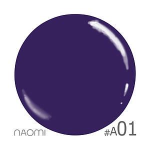 """Гель-лак Naomi """"Aquaurelle gel polish"""" №1"""