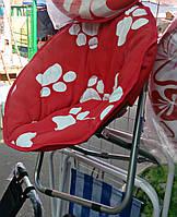 Детский складной круглый стул