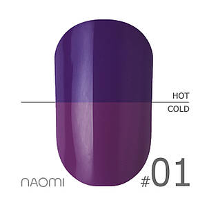 "Гель-лак Naomi ""Thermo collection"" №1"