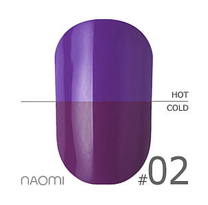 "Гель-лак Naomi ""Thermo collection"" №2"