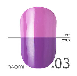 "Гель-лак Naomi ""Thermo collection"" №3"