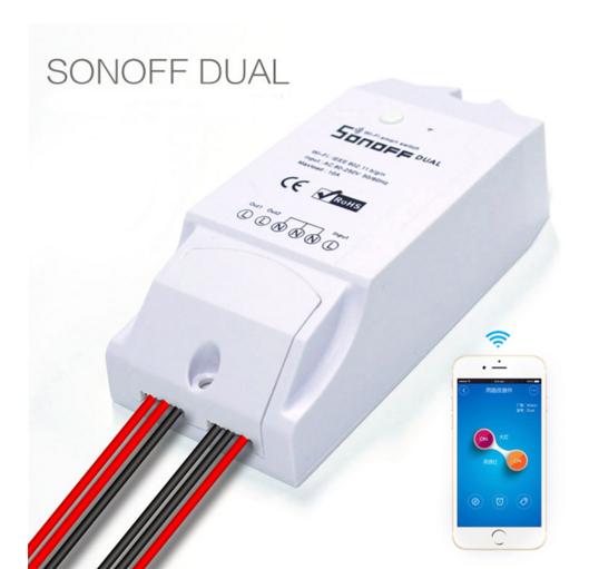 Sonoff Dual 2-Канальный WiFi Выключатель