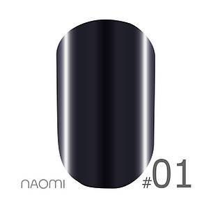 "Гель-лак Naomi ""Metallic"" №1"