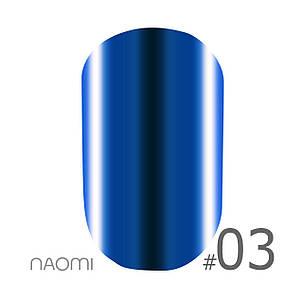 "Гель-лак Naomi ""Metallic"" №3"