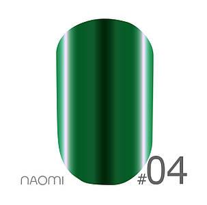 "Гель-лак Naomi ""Metallic"" №4"