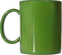 Чашка из поликарбоната Хаки  под нанесения логотипа, чашка с логотипом