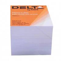 Блок бумаги 90*90*80 мм 900л, Белый, не клееный, D8005
