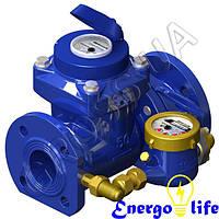 Счётчик воды турбинный комбинированный  GrosS WPVD - UA 100/20