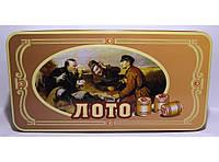 I4-7 Набор лото в металлической коробке с деревянными бочонками., фото 1