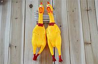 Кричащая резиновая курица CRAZY CHICKEN