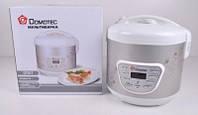 Мультиварка для дома Domotec DT-517 на 5 литров и 9 автоматических режимов приготовления.