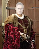 Картина с фото в королевском стиле для мужчины
