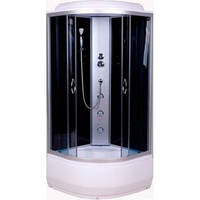 Гидробокс  90x90 с глубоким поддоном без электроникой