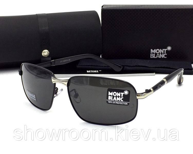 Солнцезащитные очки в стиле в стиле Montblanc (271) black