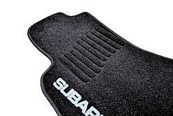 Коврики в салон ворсовые Subaru Outback (2015-) /Чёрные