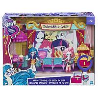 """Equestria Girls Игровой набор мини-кукол  """"Кинотеатр"""""""