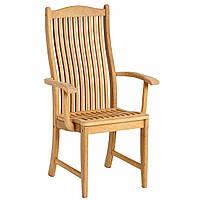 Садовый стул к обеденному столу из дерева с коллекция  Roble