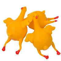 Лизун Антистресс с яйцом Курица, фото 1