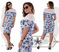 Платье женское батал 1060 НС, фото 1