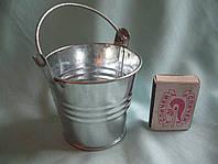Декоративне відро (відерко) на фаркоп, висота 5,5 див., фото 1