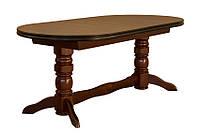 Раскладной обеденный стол Скиф СТ-9 (две вставки) из натуральной древесины,