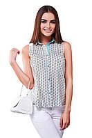 Блуза-рубашка женская GIOIA с отделочной планкой