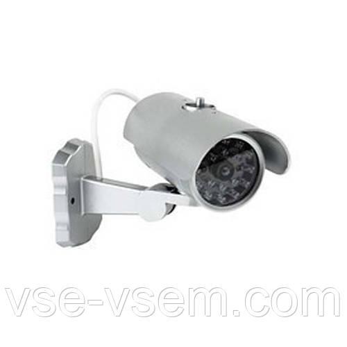 Бутафорная видеокамера муляж, камера обманка, Mock Security Camera