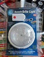 Світильник (лампа) з пультом, нічник Remote Brite Light