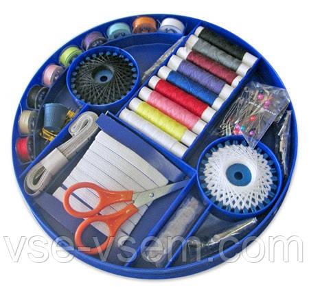 Швейный набор ХОЗЯЮШКА, набор ниток и иголок