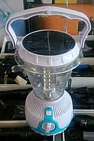 Кемпинговый фонарь (лампа) на солнечной батарее с регулятором яркости., фото 1