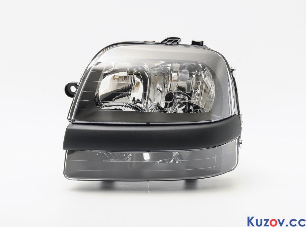 Фара Fiat Doblo 01-04 правая (Depo) электрич. H1+H7 3040100E 46807766