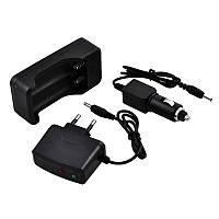Универсальное зарядное устройство 3 в 1 для литиевых аккумуляторов 18650 Bailong 403