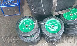Діаметр 20 див. Запасні суцільнометалеві колеса з підшипником для кравчучки (візки)