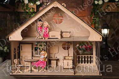 Кукольный домик маленький