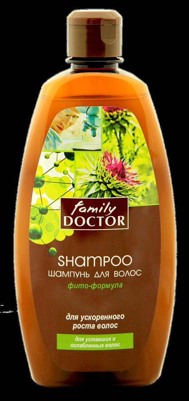 """Шампунь"""" Фіто-формула для прискореного росту волосся """" Family Doctor 500 мл  (1769)"""