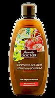 "Шампунь-бальзам "" Фіто-формула для посіченого волосся "" Family Doctor 500 мл  (1745)"