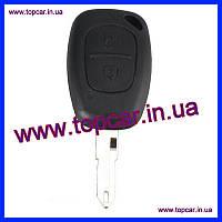 Корпус ключа+жало Renault Master  RMT102