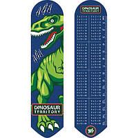 """Закладка для книг2D """"Динозавр""""705824 Yes"""