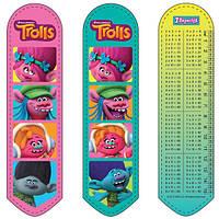 """Закладка для книг2D """"Trolls 1""""705898 1 Вересня"""