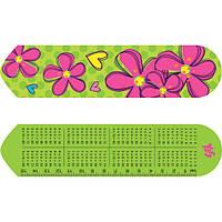 """Закладка для книг 2D """"Flowers"""" 705822 Yes"""