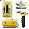 Щетка для груминга крупных собак Furminator deShedding tool Large Фурминатор - лезвие 10,16 см., без кнопки.
