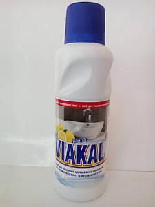 Viakal Чистячий засіб для хромованих поверхонь і поверхонь із неіржавіючої сталі  Лимон 500мл