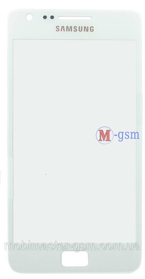 Стекло Samsung i9100 Galaxy S2 белое