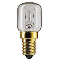 Лампа PHILIPS APPL 15W E14 230-240V T25 CL RF, бытовая морозостойкая