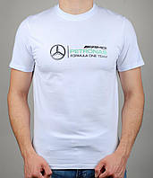 Мужская футболка Puma Mercedes 4111 Белая