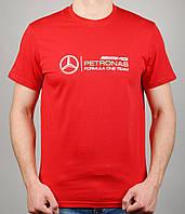 Мужская футболка Puma Mercedes 4112 Красная