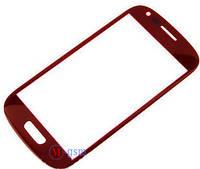 Стекло Samsung i8190/i8200 Galaxy S3 mini/mini Neo красное