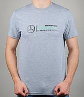 Мужская футболка Puma Mercedes 4114 Серая